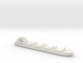 1/1250 Scale Dry Stores Cargo Ship in White Natural Versatile Plastic