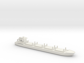1/2400 Scale Dry Stores Cargo Ship in White Natural Versatile Plastic