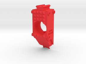 Swordfish Front End  (Short) for Nerf Stryfe in Red Processed Versatile Plastic
