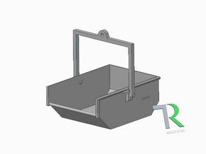H0 1:87 Aushubkübel für Kran (3 Stk) in Smooth Fine Detail Plastic
