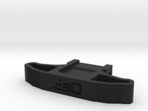 M27 Priming Handle for Nerf Rail in Black Natural Versatile Plastic