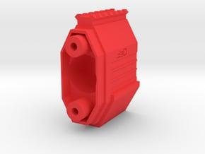 Laser Pulse Carbine Front End for Nerf Stryfe in Red Processed Versatile Plastic