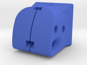 TeleScopix Shoulder Stock Adapter for Nerf Kronos in Blue Processed Versatile Plastic