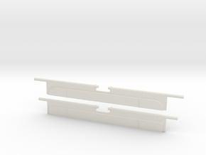 N64 Dust Doors in White Natural Versatile Plastic