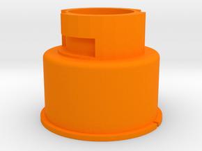 Modulus Barrel Adapter for Nerf Rival Apollo in Orange Processed Versatile Plastic