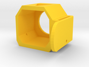 MOLLE Stock Holster for Nerf Modulus (Right Handed in Yellow Processed Versatile Plastic