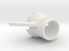 Sundogz ProBoat RiverJet Improved Steering Nozzle in White Natural Versatile Plastic