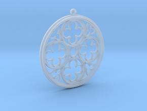 gotic pendant  in Smooth Fine Detail Plastic