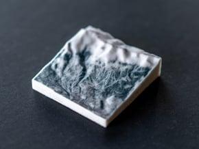 Breckenridge in Winter, Colorado, USA, 1:100000 in Full Color Sandstone