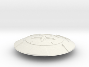 Transformers Siege Captain America Shield in White Natural Versatile Plastic