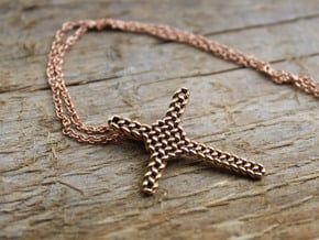 Celtic Cross Pendant - Christian Jewelry in Polished Bronze