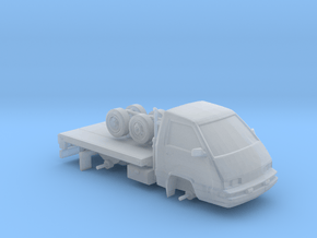 1-87 Scale Toy-Work Truck in Smooth Fine Detail Plastic
