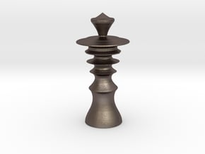 Avatar Queen in Polished Bronzed-Silver Steel