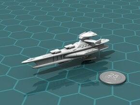 Novus Regency Heavy Cruiser in White Natural Versatile Plastic