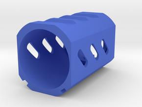 Heat Shield Muzzle for Nerf N-Strike Modulus in Blue Processed Versatile Plastic