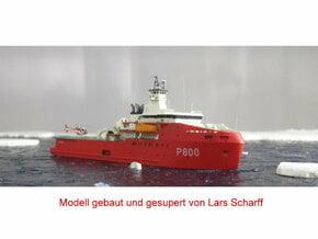 L'Astrolabe Polar Research Vessel 1/700 in Smooth Fine Detail Plastic