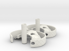 PS4 web shooter (For 7cm wrist) in White Natural Versatile Plastic