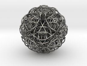 Life Fusion Life DNA in Polished Silver