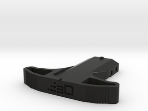 M27 Priming Handle (Short) for Nerf Rival Kronos in Black Natural Versatile Plastic