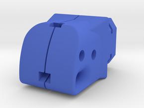 Modulus Shoulder Stock Adapter for Nerf Kronos in Blue Processed Versatile Plastic