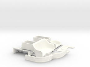 Parts for Ford model T Runabout 1909-1910 in White Processed Versatile Plastic