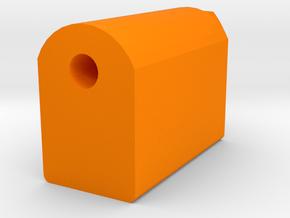 J.W. Cassian Suppressor (14mm-) in Orange Processed Versatile Plastic