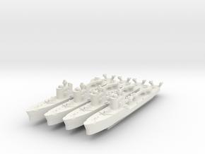 Spica 1:1800 x4 in White Natural Versatile Plastic
