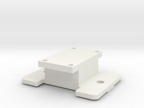 Lucid Triton mount in White Natural Versatile Plastic