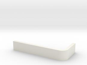 Churchill NACELLE PYLON INSERT (PORT AND STARBOARD in White Natural Versatile Plastic