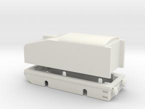 alvf armored locomtive 1/76  in White Natural Versatile Plastic