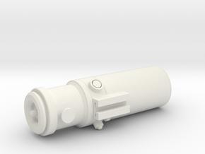 Droid Caller (replica size) in White Natural Versatile Plastic