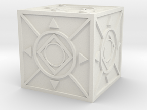 Jedi Holocron 2 in White Natural Versatile Plastic