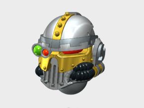 6x Base - Iron Skull Optics Helmets in Smooth Fine Detail Plastic
