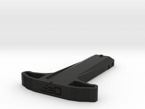 M27 Priming Handle (Long) for Nerf Rival Kronos in Black Natural Versatile Plastic