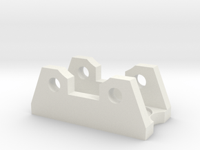 Heavy Duty Quickfist Mount in White Natural Versatile Plastic