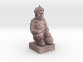 Terracotta Warrior in Natural Full Color Sandstone: Small