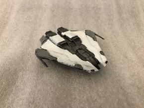 Krait MK2: Elite Dangerous in Smooth Fine Detail Plastic: 1:1000