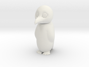 PENGUIN with swivel head (TEST VERSION) in White Natural Versatile Plastic