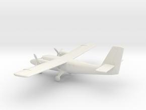 de Havilland Canada DHC-6 Twin Otter in White Natural Versatile Plastic: 1:160 - N