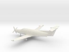 Pilatus PC-12 in White Natural Versatile Plastic: 1:160 - N