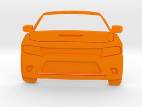 Dodge Art: Modern Charger Toothpaste Pusher in Orange Processed Versatile Plastic