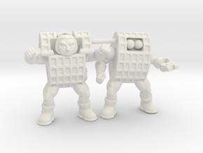 """Chex Warrior Team, 1.75"""", 35mm in White Natural Versatile Plastic: Medium"""
