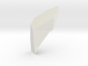 Objtest2 in White Natural Versatile Plastic