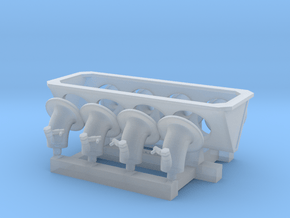 1/12 M23 intake trumpets 1974-75 in Smoothest Fine Detail Plastic