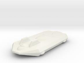 Federation Assault Transport in White Natural Versatile Plastic