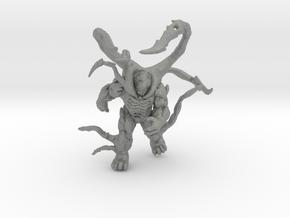 Gears of War infected Berserker miniature game rpg in Gray PA12