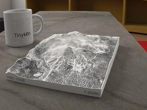 Mammoth Mtn. in Winter, California, 1:25000 in Full Color Sandstone