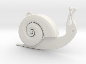 Snaily in White Natural Versatile Plastic