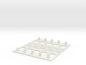 Switch Modding Station (lightweight) in White Natural Versatile Plastic