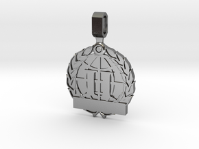 CS:GO Tournament Medallion - 2nd Place in Polished Silver